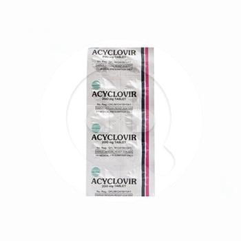 Acyclovir Tablet 200 mg harga terbaik 5304