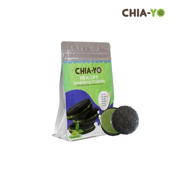 Chia-Yo Sandwich Cookies Matcha 80 g harga terbaik 25000