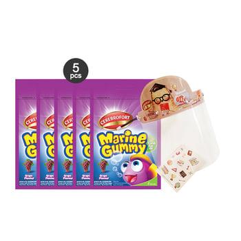 Paket Cerebrofort Gummy Grape X Big Bear harga terbaik
