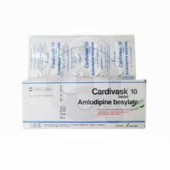 Cardivask tablet adalah obat untuk mengobati tekanan darah tinggi dan membantu mencegah stroke.