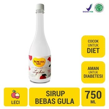 Tropicana Slim Sirup Leci 750 ml harga terbaik 35700