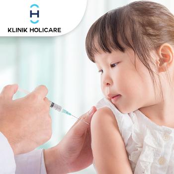 Vaksin Dewasa HPV (1X vaksin) di Klinik Holicare
