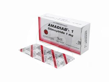 Amadiab Kaplet 1 mg  harga terbaik 30385