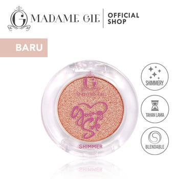 Madame Gie Going Solo Shimmery Pressed Eyeshadow 12 - Chu harga terbaik 16000