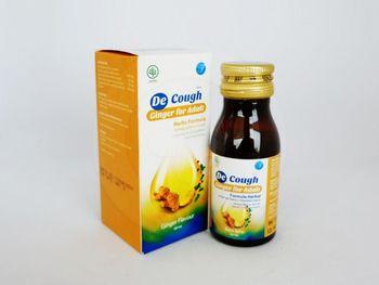 De Cough Rasa Jahe Sirup 60 mL harga terbaik