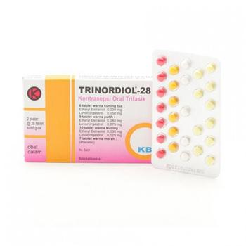 Trinordiol tablet adalah tablet kontrasepsi oral untuk mencegah kehamilan.