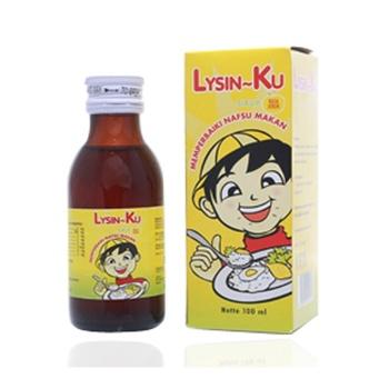 Little U Lysin Sirup 100 ml harga terbaik