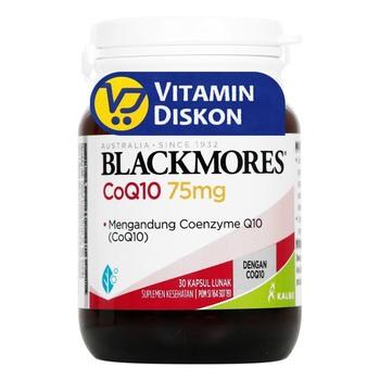 Blackmores Coq10 75 mg kapsul merupakan suplemen untuk kesehatan jantung