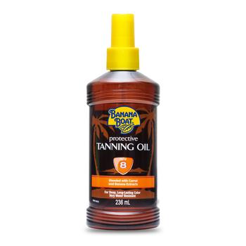 Banana Boat Protective Tanning Oil SPF8 236 ml harga terbaik 145200