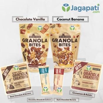 Paket Granola Creation & East Bali Cashews - Granola Bites - Granola Bar - Sarapan Sehat