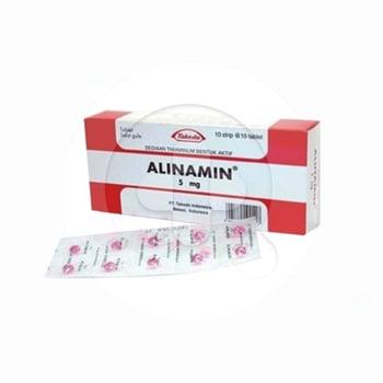 Alinamin tablet adalah suplemen untuk mengatasi kekurangan vitamin B1.