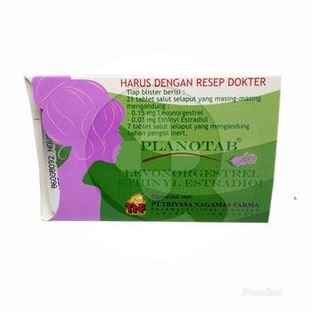 Planotab tablet adalah obat kontrasepsi oral kombinasi untuk mencegah kehamilan