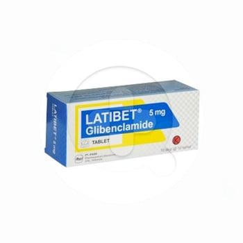 Latibet tablet adalah obat untuk mengobati diabetes melitus tipe 2.