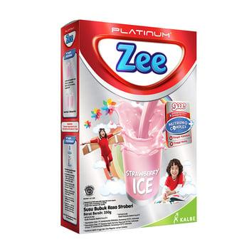susu Zee Platinum Strawberry Ice 350 g