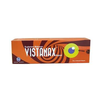 Vistanax kaplet digunakan sebagai terapi pendukung untuk memelihara kesehatan mata.