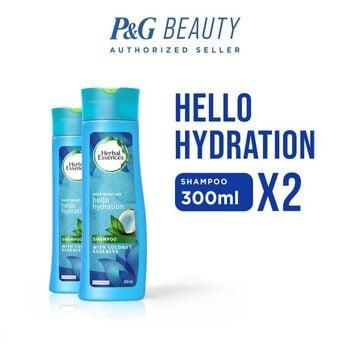 Herbal Essences Shampoo Hello Hydration 300 ml - Paket isi 2 harga terbaik 69800