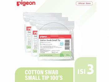 Pigeon Cotton Swab Isi 100 Pcs - Small Tip harga terbaik 7500