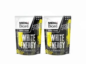 MEN'S BIORE Body Foam White Energy Pouch 450 mL Twinpack harga terbaik 53800