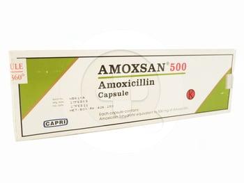 Amoxsan kapsul adalah obat untuk membantu mengatasi infeksi bakteri