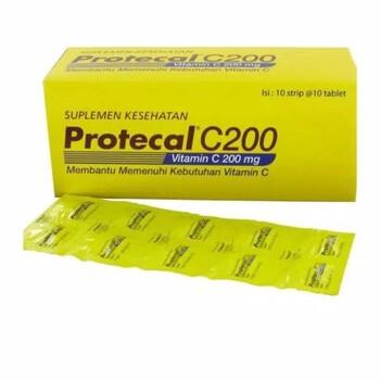 Protecal C200 Vitamin C Tablet  harga terbaik 30000
