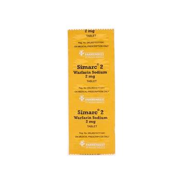 Simarc digunakan untuk pengobatan dan pencegahan penggumpalan darah di pembuluh vena