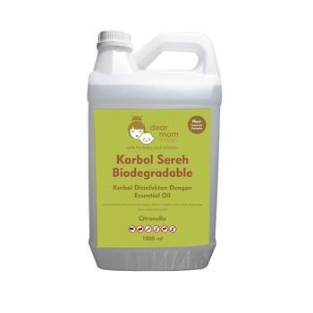 DearMom Biodegrdable Disinfectant Karbol Sereh 5 L harga terbaik