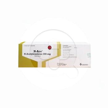 N-ace kapsul digunakan untuk mengobati infeksi saluran napas yang ditandai dengan terdapatnya lendir yang kental dan lengket secara berlebih.