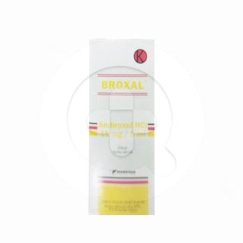 Broxal sirup adalah obat untuk mengurangi lendir atau dahak pada saluran pernapasan.