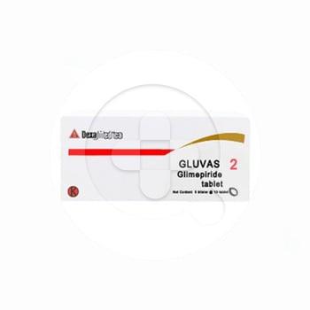 Gluvas tablet adalah obat untuk terapi untuk diabetes melitus tipe 2 atau non-insulin-dependent