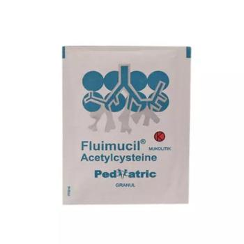 Fluimucil Pediatric granul adalah obat untuk mengatasi infeksi saluran pernapasan