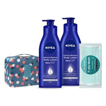 NIVEA Body Care Intensive Set harga terbaik