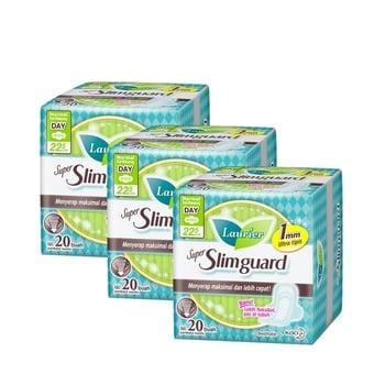 Laurier Super Slimguard Day 22.5 cm  harga terbaik 75600
