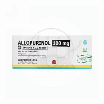 Allopurinol Hexpharm 100 mg  harga terbaik
