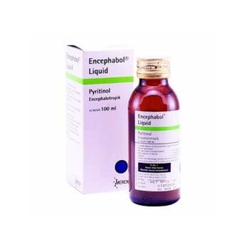 Encephabol liquid 100 ml untuk trauma kepala (trauma kranioserebral) dan kondisi sesudah pembedahan otak.