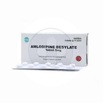 Amlodipine Medikon Tablet 5 mg  harga terbaik 11509