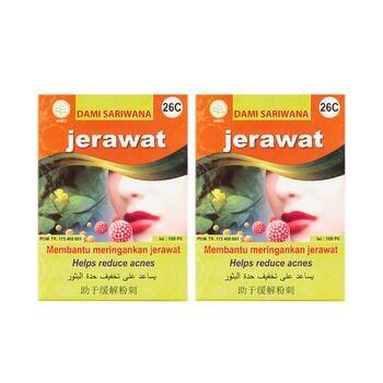 Dami Sariwana Jerawat Pil  harga terbaik 28000