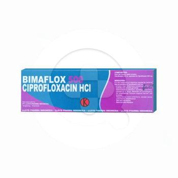 Bimaflox kaplet adalah obat untuk mengatasi berbagai infeksi, seperti infeksi saluran pernapasan.