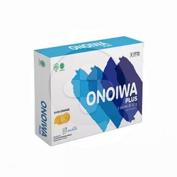 Onoiwa Plus sachet digunakan sebagai antioksidan, meningkatkan kadar albumin dalam tubuh, mempercepat proses penyembuhan pasca operasi serta meningkatkan kekebalan tubuh.