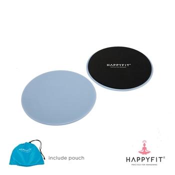 Happyfit Core Slider Round - Blue harga terbaik 100000