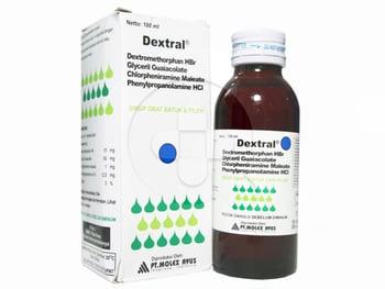 Dextral Sirup 100 mL harga terbaik 14747