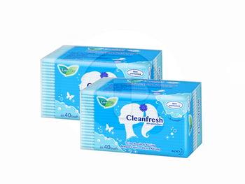 Laurier Pantyliner Cleanfresh 40S Non Perfume Value Pack harga terbaik 18000