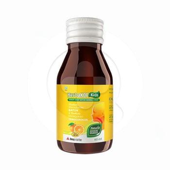 Herbakof Kids Sirup Rasa Jeruk 60 mL harga terbaik 13900