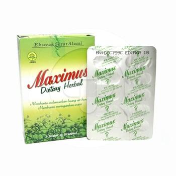 Maximus Dietary Herbal Kapsul  harga terbaik 47740