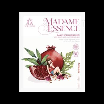Madame Gie Essence Blanket Mask Pomegranate harga terbaik 12500