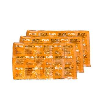 Tersedia Paket Isoman Covid-19 Multivitamin - 30 Hari yang terdiri dari Hevit Plus tablet