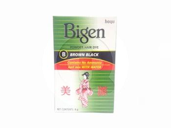 Bigen Powder Hair Dye Brown Black 6 g harga terbaik 16231