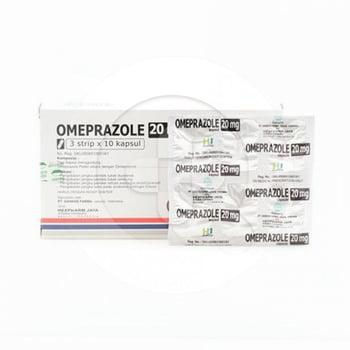 Omeprazole Hexpharm Kapsul 20 mg  harga terbaik 5504