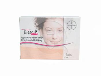 Diane-35 tablet adalah kontrasepsi oral untuk mencegah kehamilan pada wanita.
