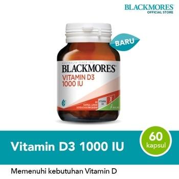 Blackmores Vitamin D3 1000 IU isi 60 softcap