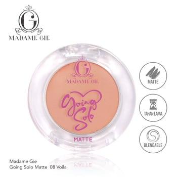 Madame Gie Going Solo Matte Pressed Eyeshadow 08 - Voila harga terbaik 16000